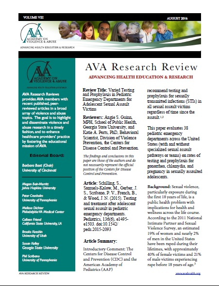 August Research Review