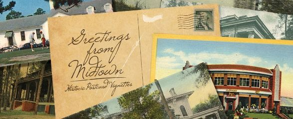 Greetings From Midtown: Historic Postcard Vignettes