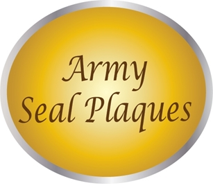 MP-1000 - Carved Plaques  of the Great Seal of the US Army (USA)
