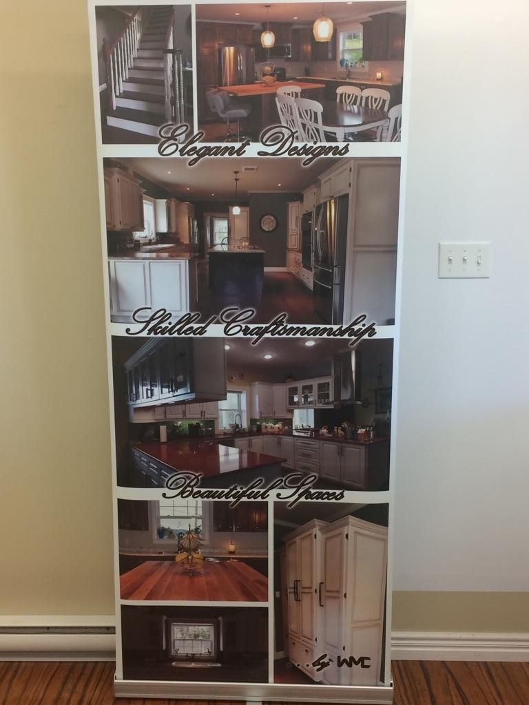 Pop-Up Banner Cabinetry