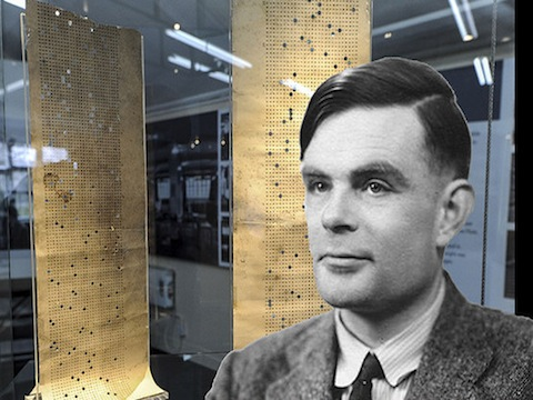 """Bletchley Park - First look at Alan Turing's Banbury Sheets used to crack Nazi Enigma code."""