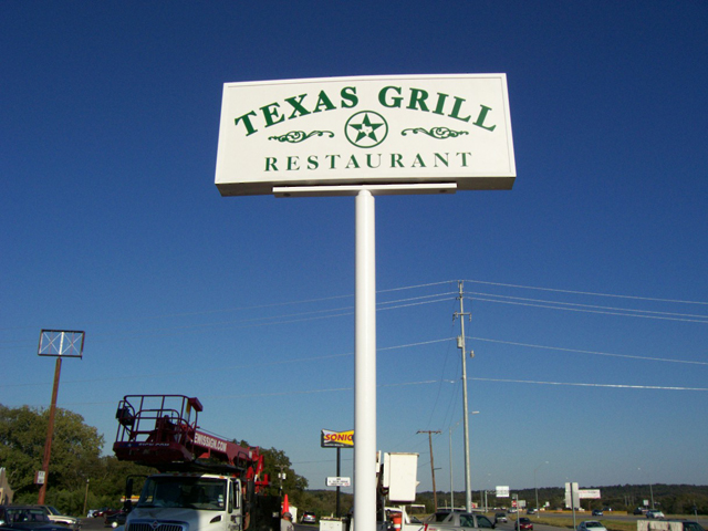 Texas Grill- Manufacture & Installation