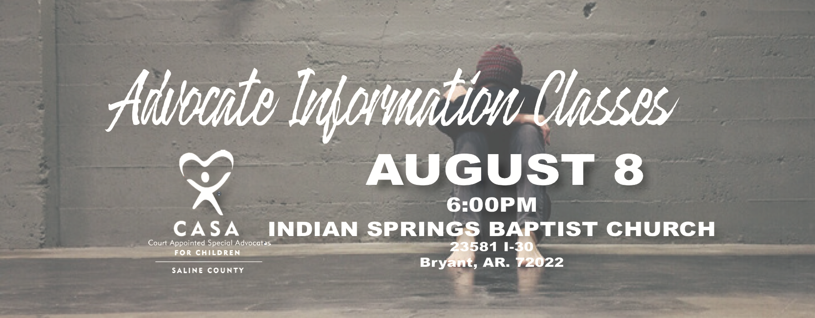 CASA 101 at Indian Springs Baptist Church