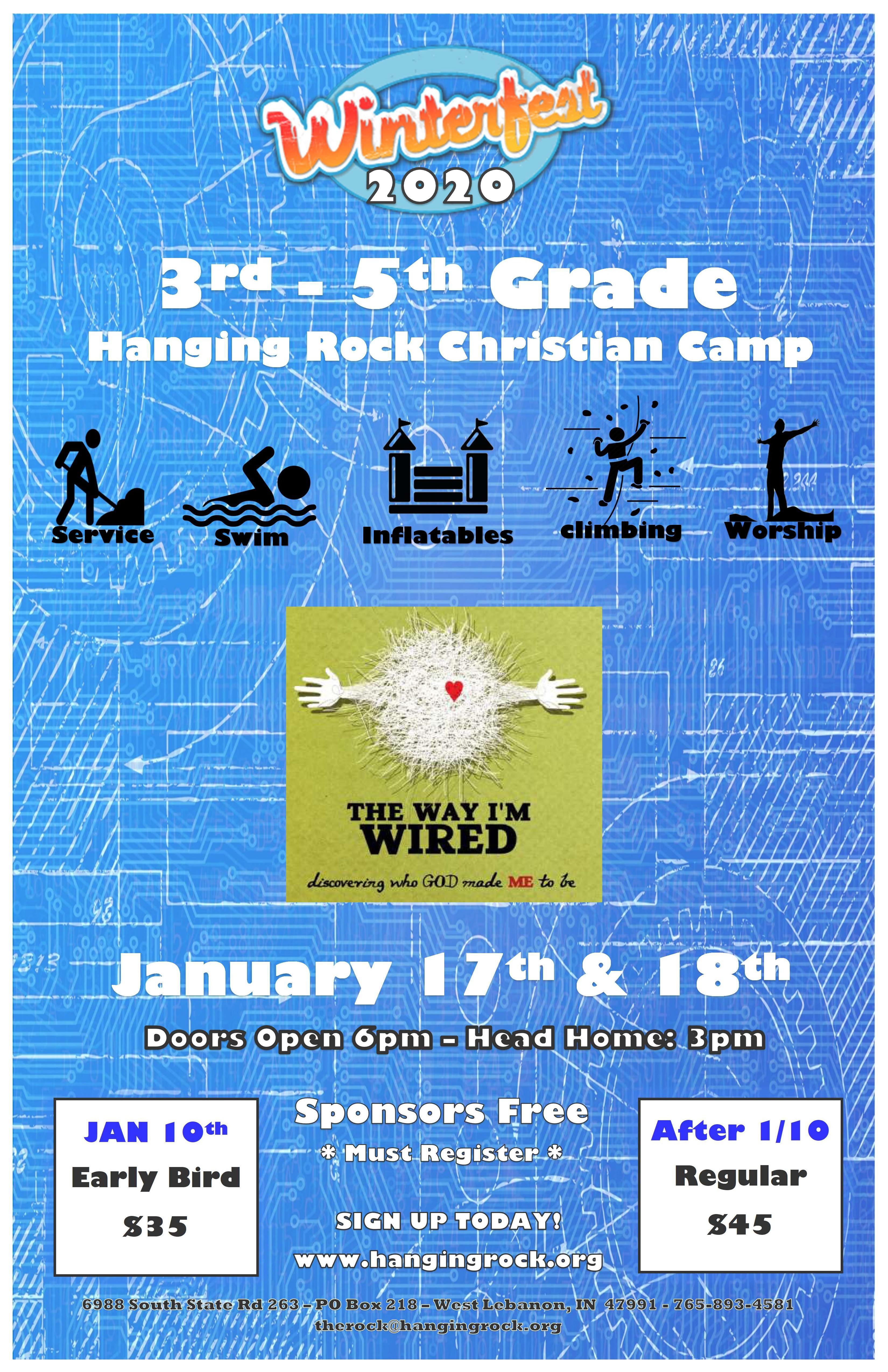 3rd -5th Grade WinterFest