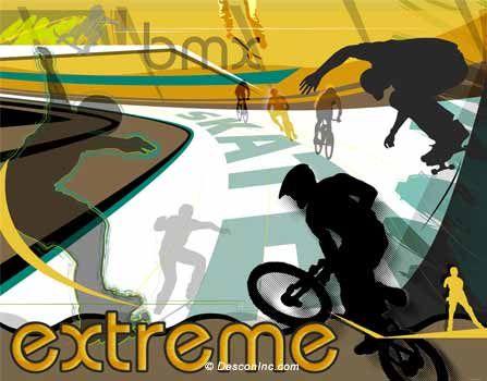 Extreme Bike Skate