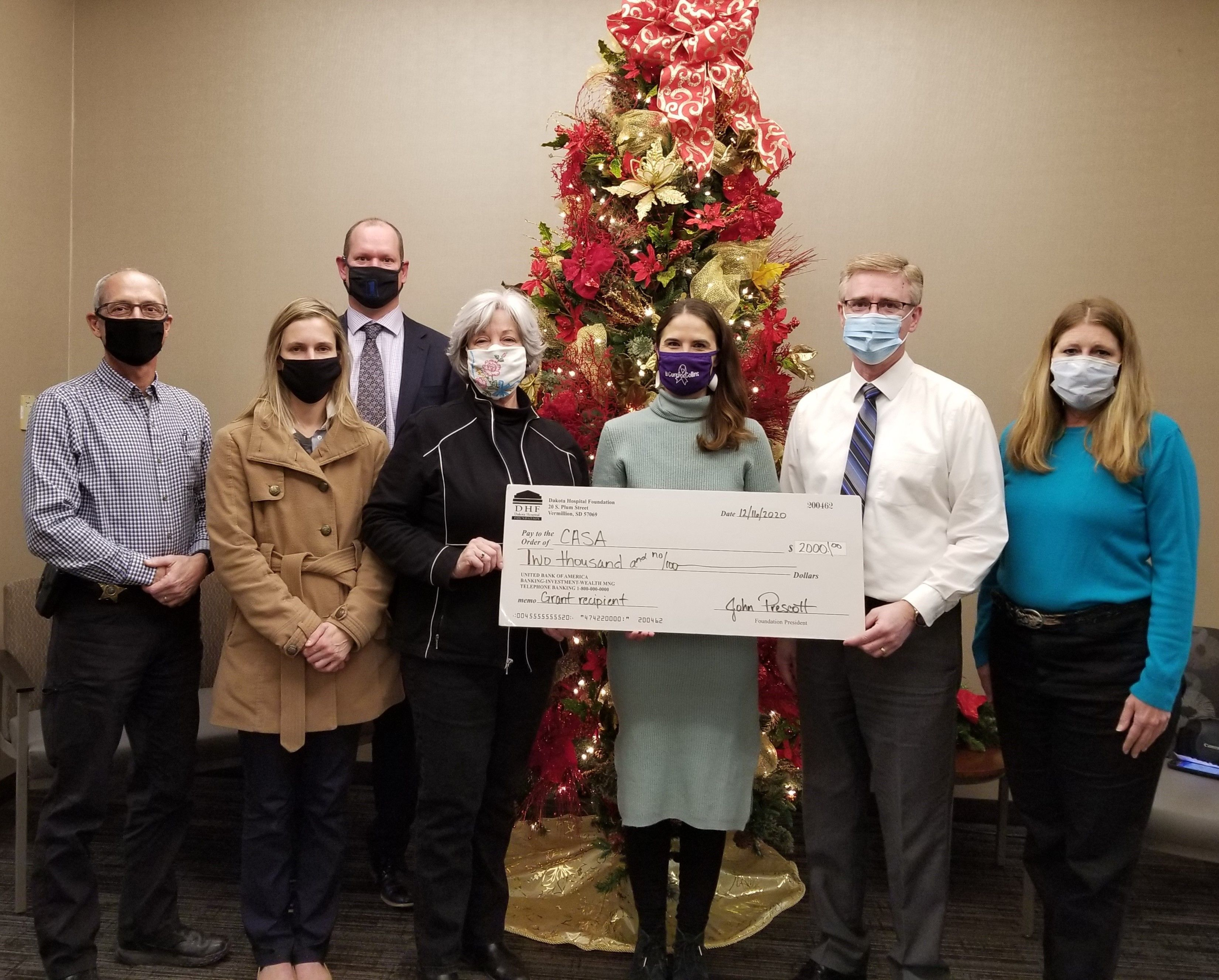 Dakota Hospital Foundation Helps CASA