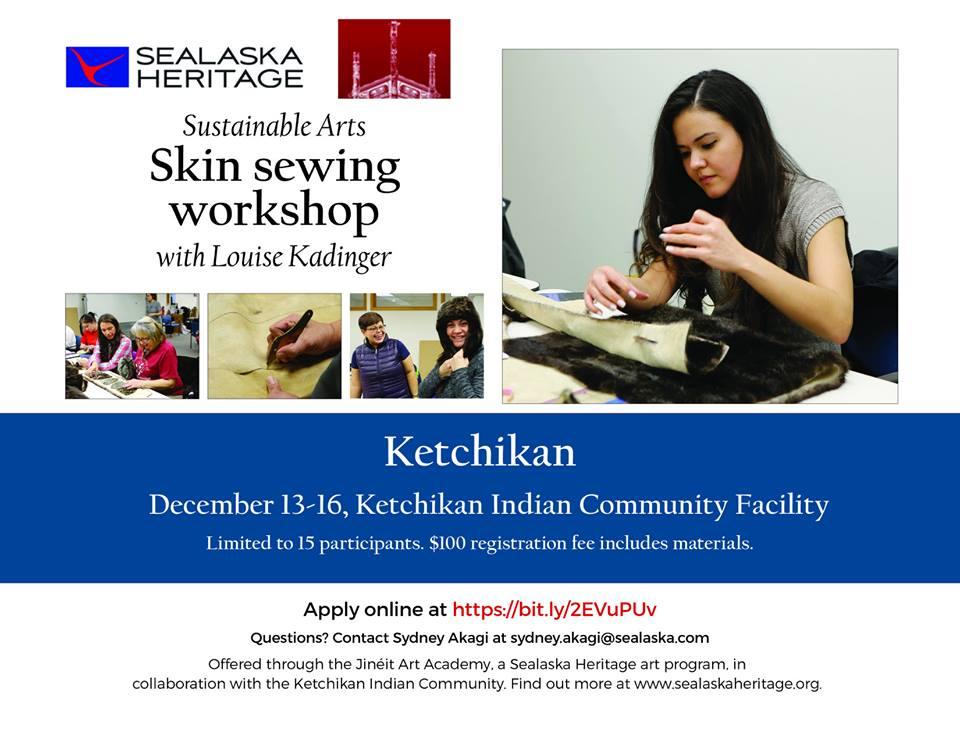 Skin Sewing Workshop!!!