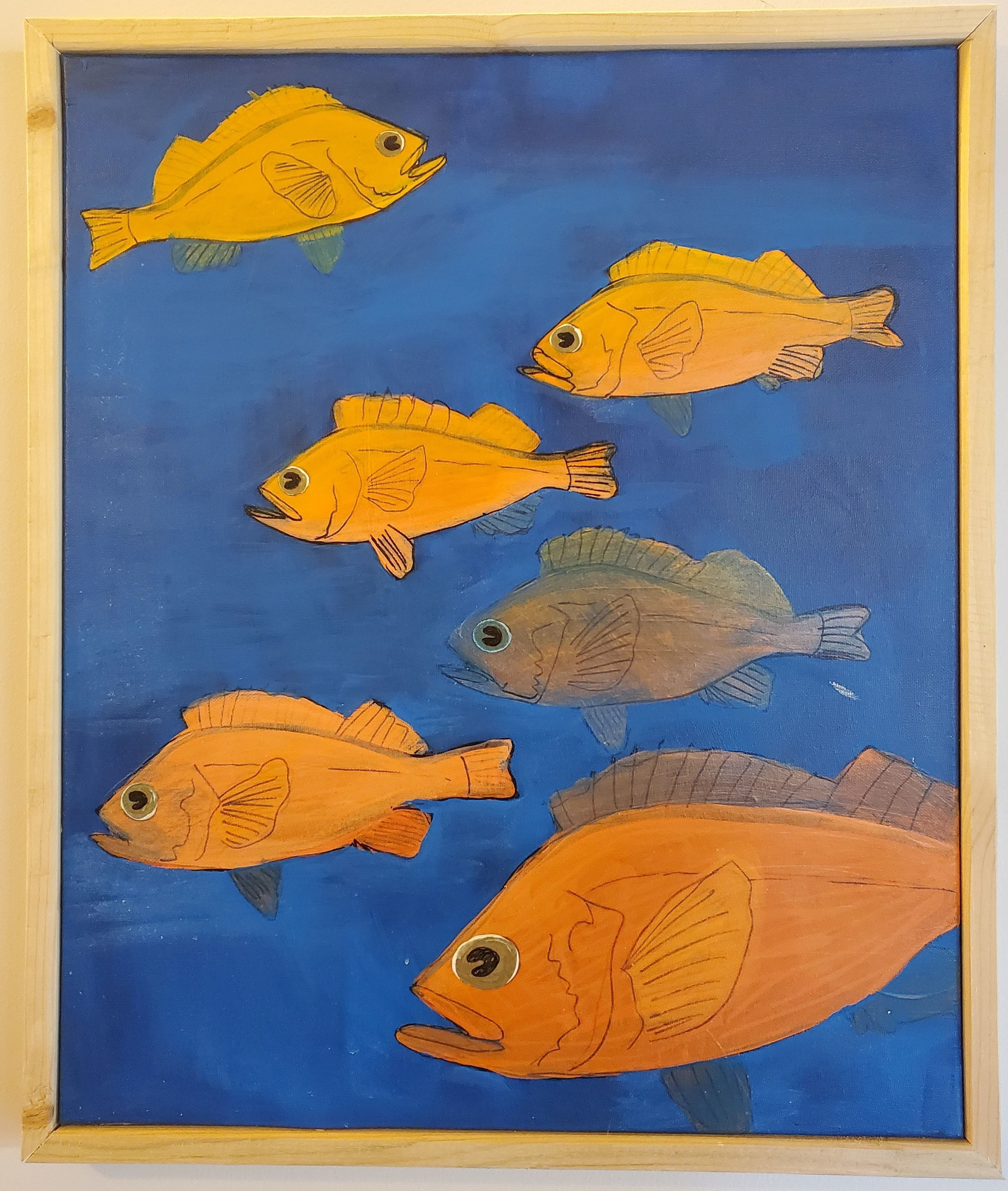 """""""1 Fish, 2 Fish. 3 Fish, 4"""" - Jess Davila"""