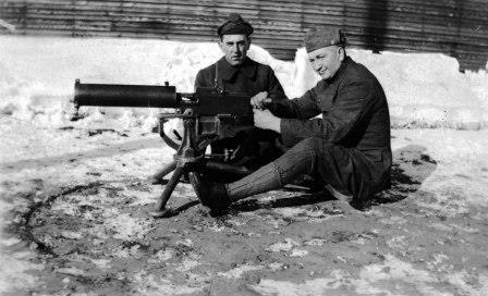 May 2017-A South Dakota Soldier Prepares for Combat in World War I