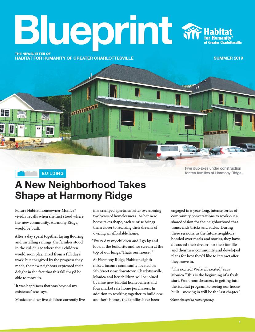 2019 Summer Blueprint