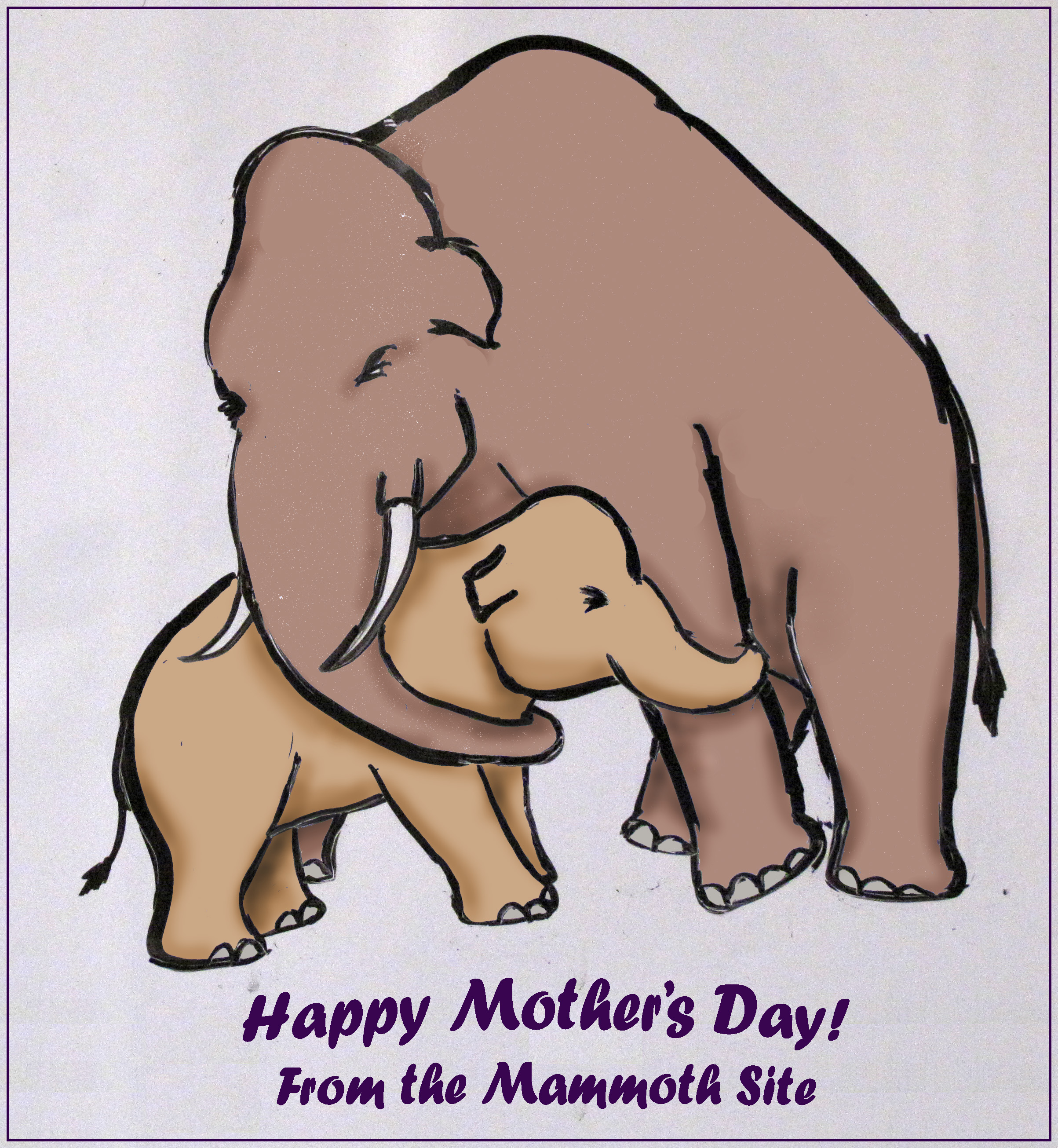 Mother's Day Care and Share at The Mammoth Site