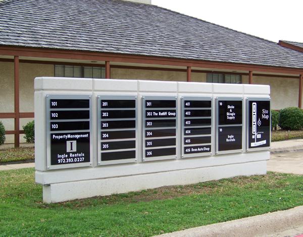 Exterior Building Tennant Sign
