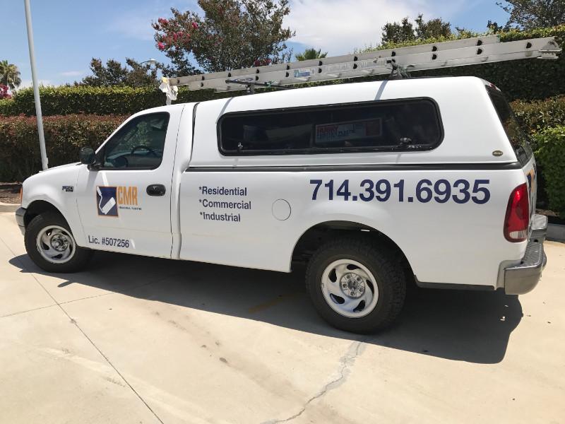 Vehicle Decals and Vinyl Lettering | Contractors | Orange County CA