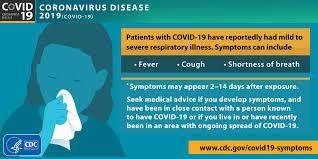 Experiencing Covid-19 Symptoms?