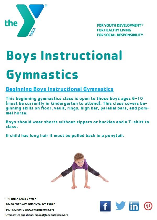 Boys Instructional Gymnastics