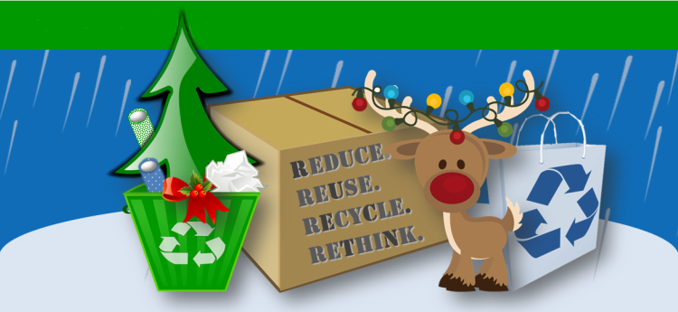 7 Ways To Reduce Waste & Recycle Right During The Holidays