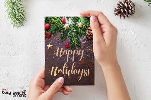 Custom Holiday Cards are Perfect for Your Clients this Holiday Season!