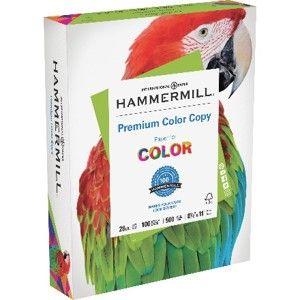 Hammermill Premium Color Copy Paper Specification Sheet