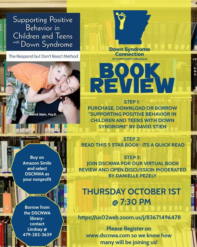 Virtual Book Review of Supporting Positive Behavior in Children and Teens with Ds