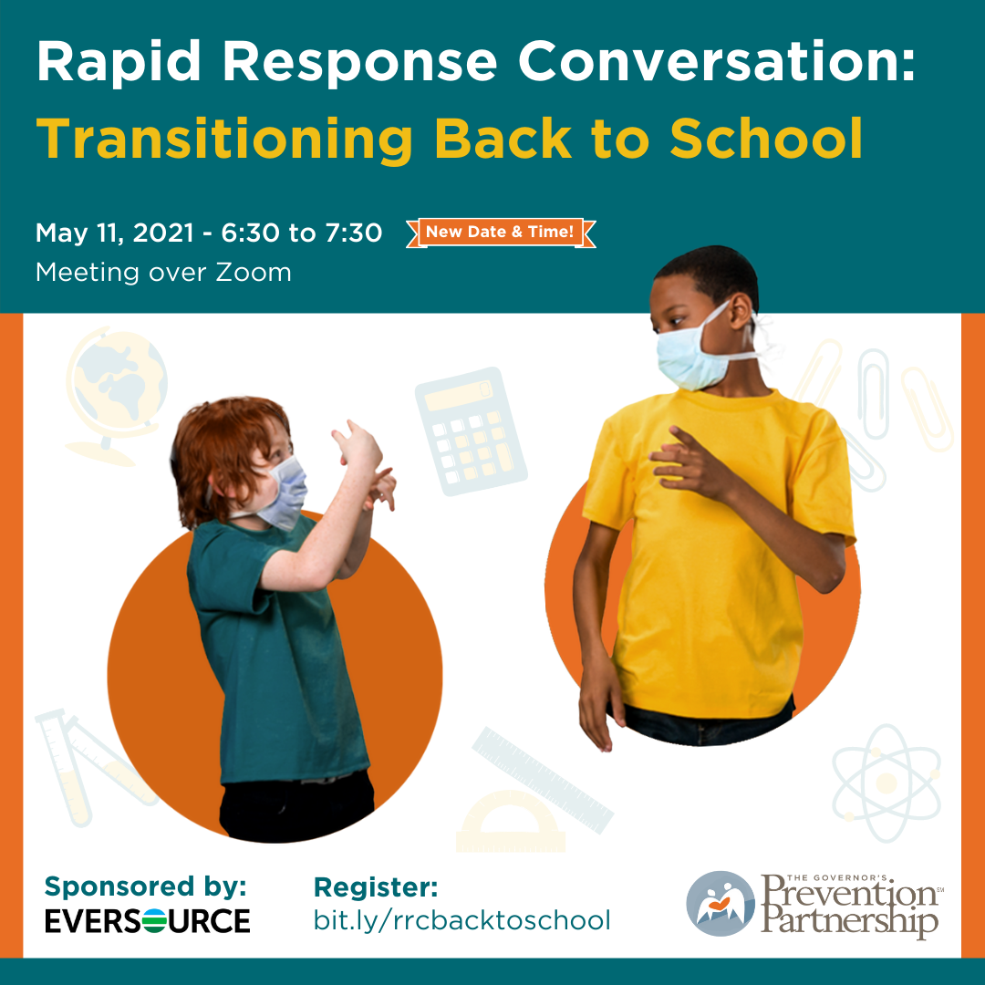 Rapid Response Conversations: Transitioning Back to School