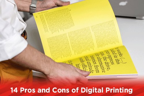 14 Pros and Cons of Digital Printing