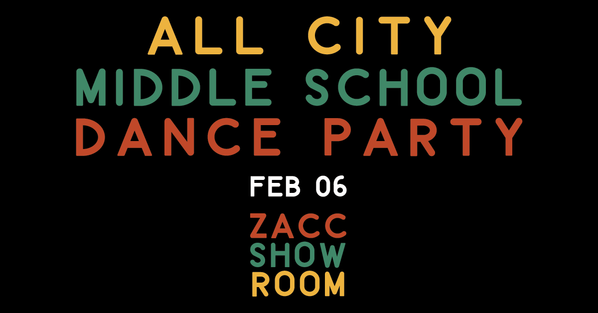 All City Middle School Dance Party