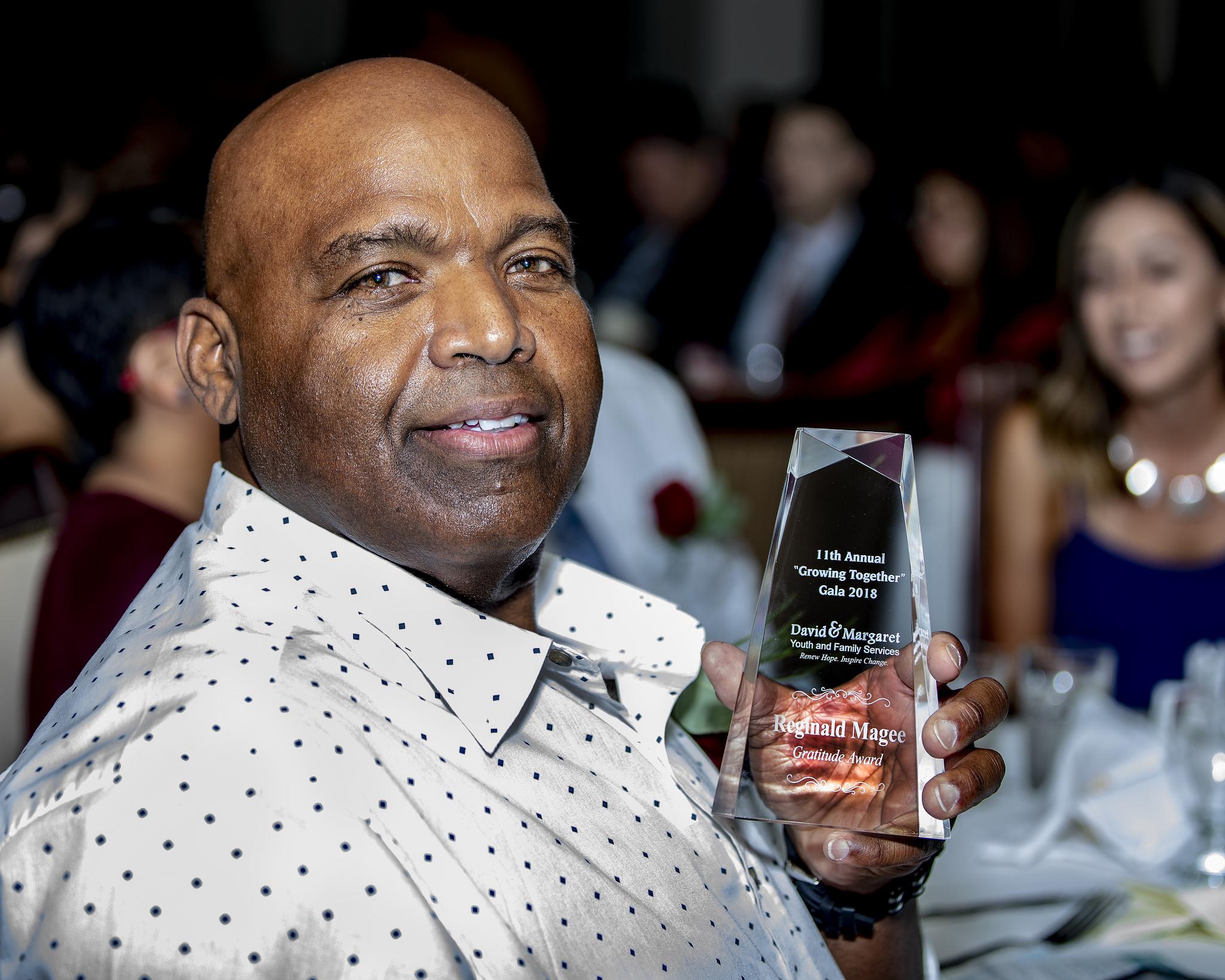 Reginald Magee - 2018 Gratitude Award Recipient