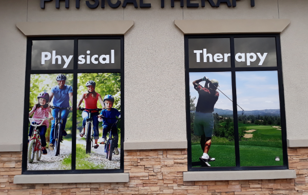 Full-Color Laminated Printed Vinyl Window Graphics in Queen Creek AZ