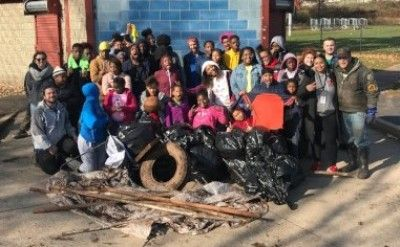 Beautifying Neighborhood Streams for Veterans' Day
