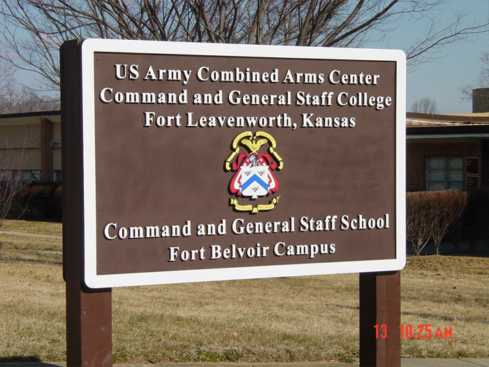 Fort Belvoir Sign