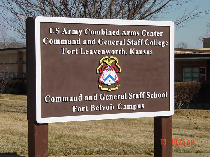 Fort Belvoir Sign