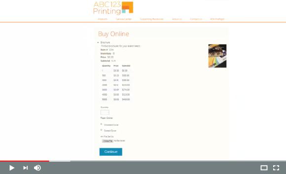 Catalog Display and Checkout