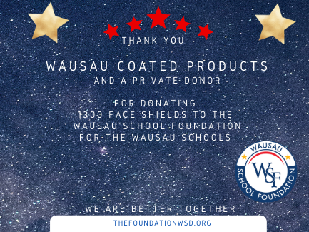 Thank you Wausau Coated Products