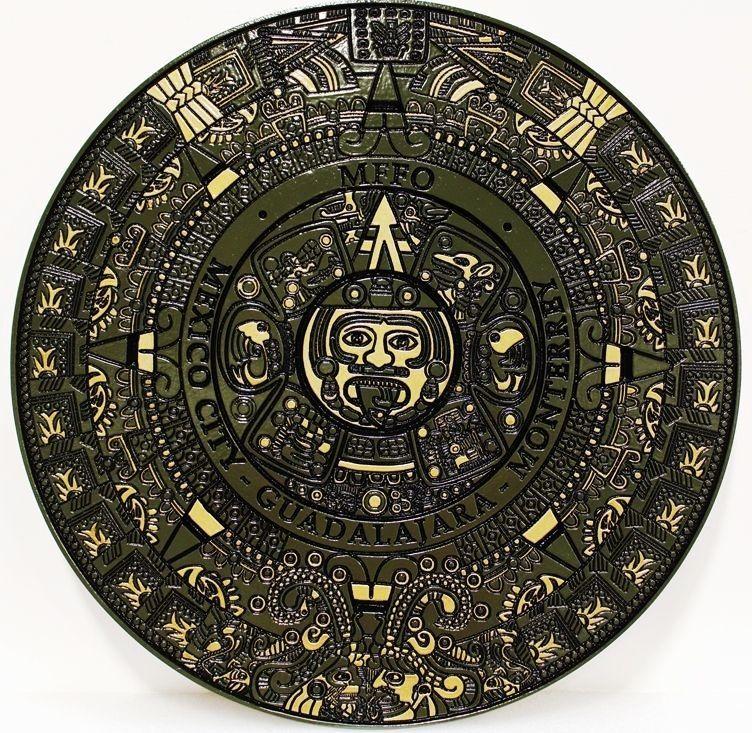 CD9220 - Aztec Religious Emblem