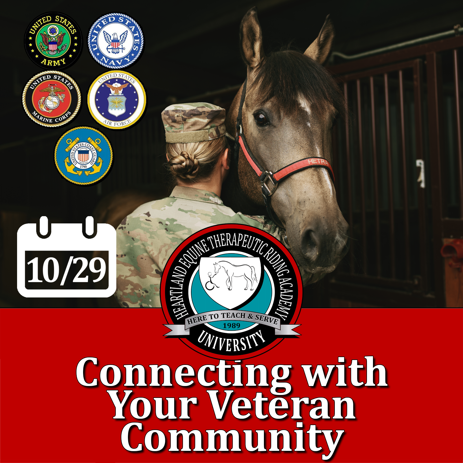 Webinar: Connecting with Your Veteran Community.