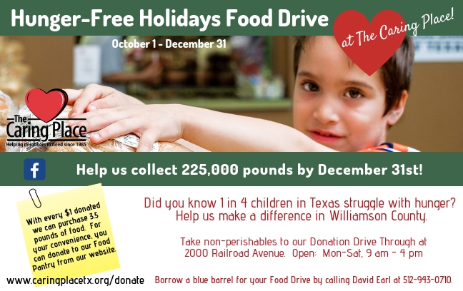 Hunger-Free Holidays Food Drive