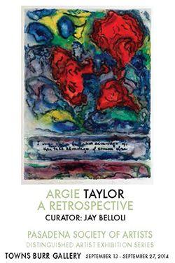 2014 - Argie Taylor: A Retrospective