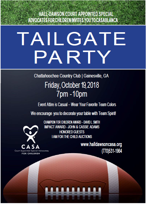 CASAblanca Tailgate Party