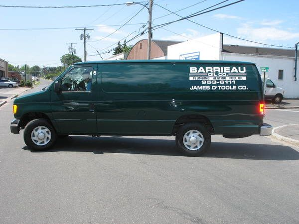 Fleet Graphics,  Ford Econoline Van, Lettering & Logo