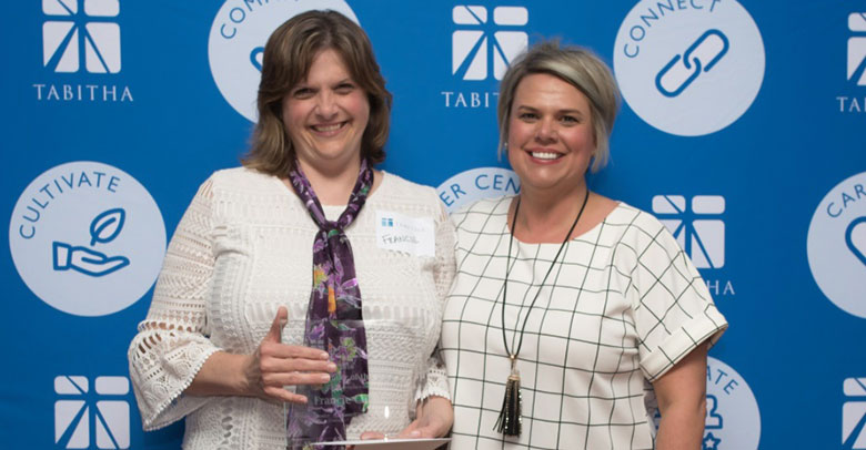 Francie Cable Named Tabitha TEAMember of the Year