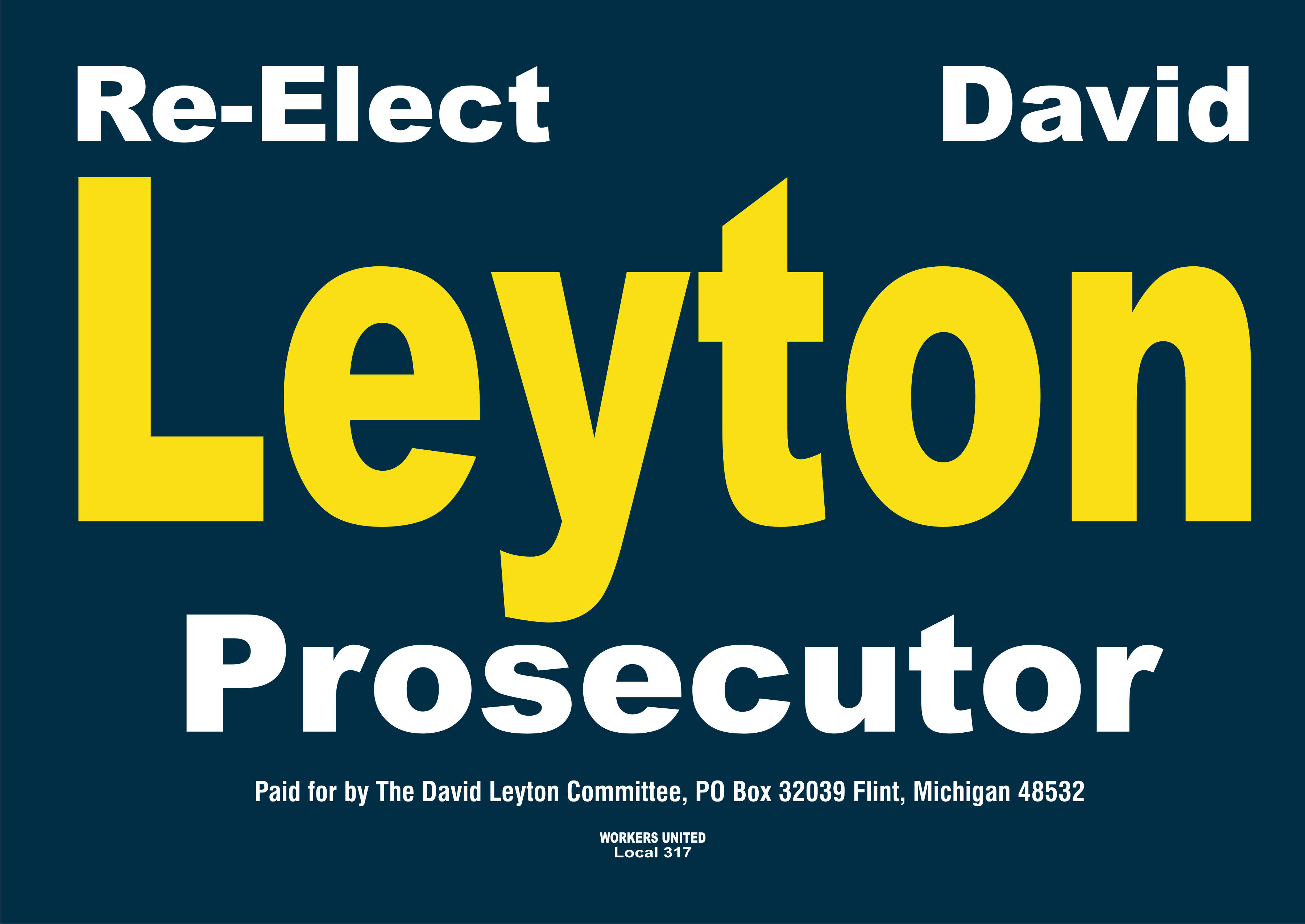 Thank you to our Yorkshire Terrier Sponsor~Prosecutor David Leyton