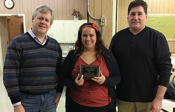 Jennifer Grimm Honored for Courage, Community Involvement