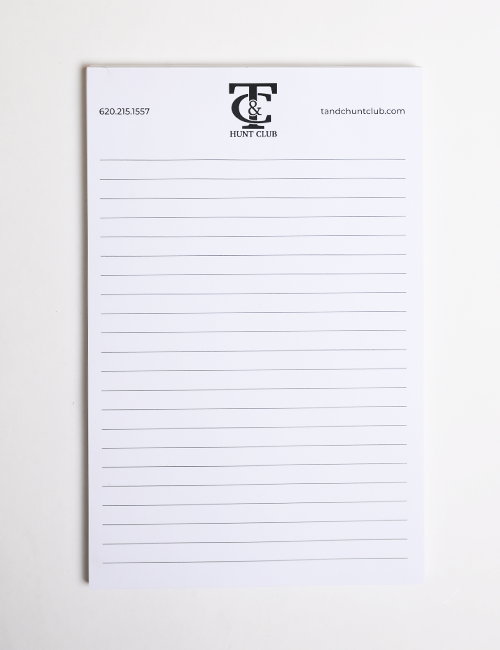 Notepads | Full Color | 50 Pages