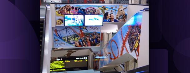 Digital Wall Graphics Airport