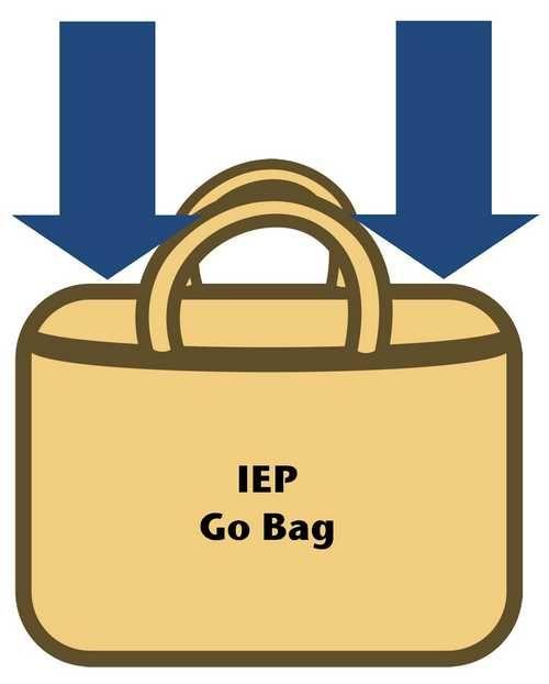 IEP Go Bag