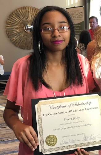 Tierra Body - John C. Culpepper, Jr. Memorial Scholarship