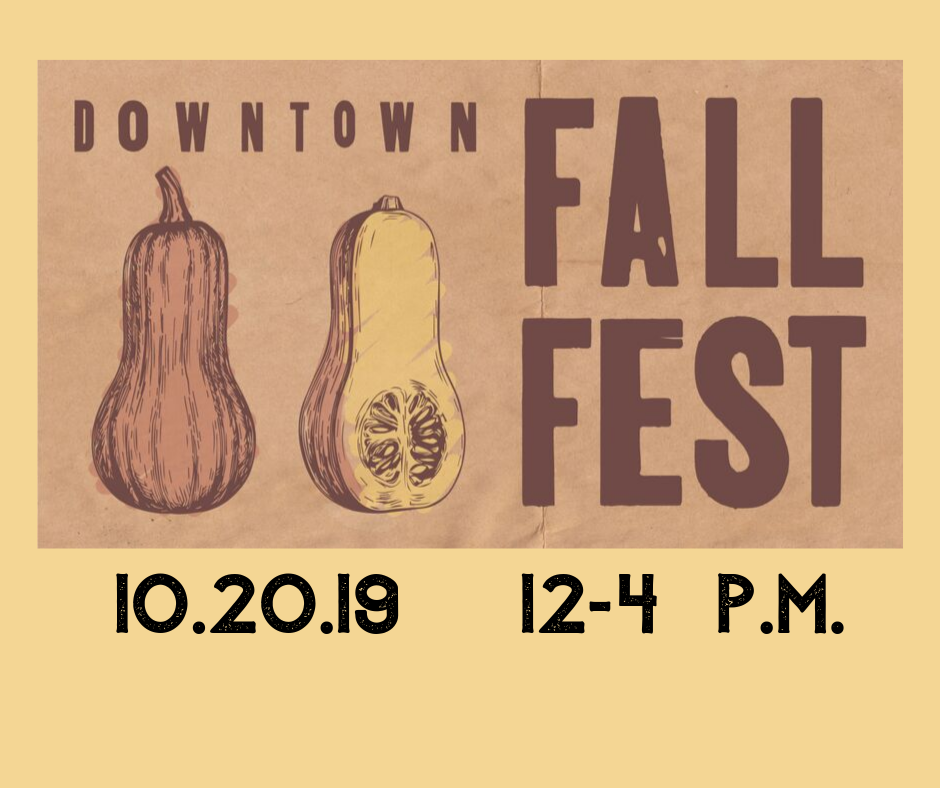 Downtown Fall Fest is coming!