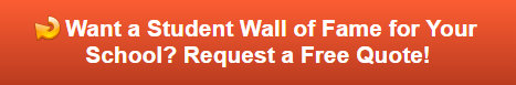 Free quote on wall of fame for schools in Fullerton CA