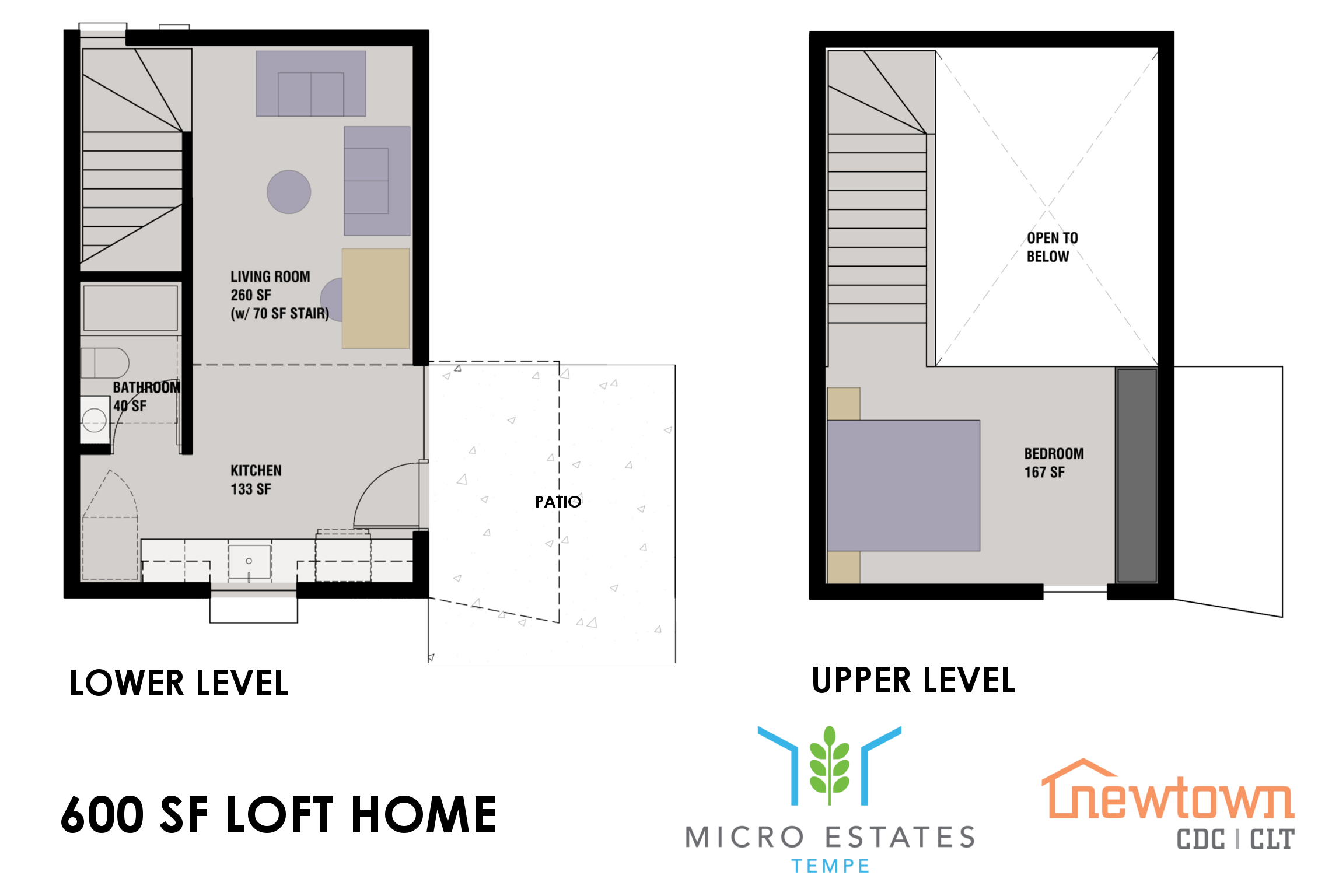 Lofted Home Floorplan