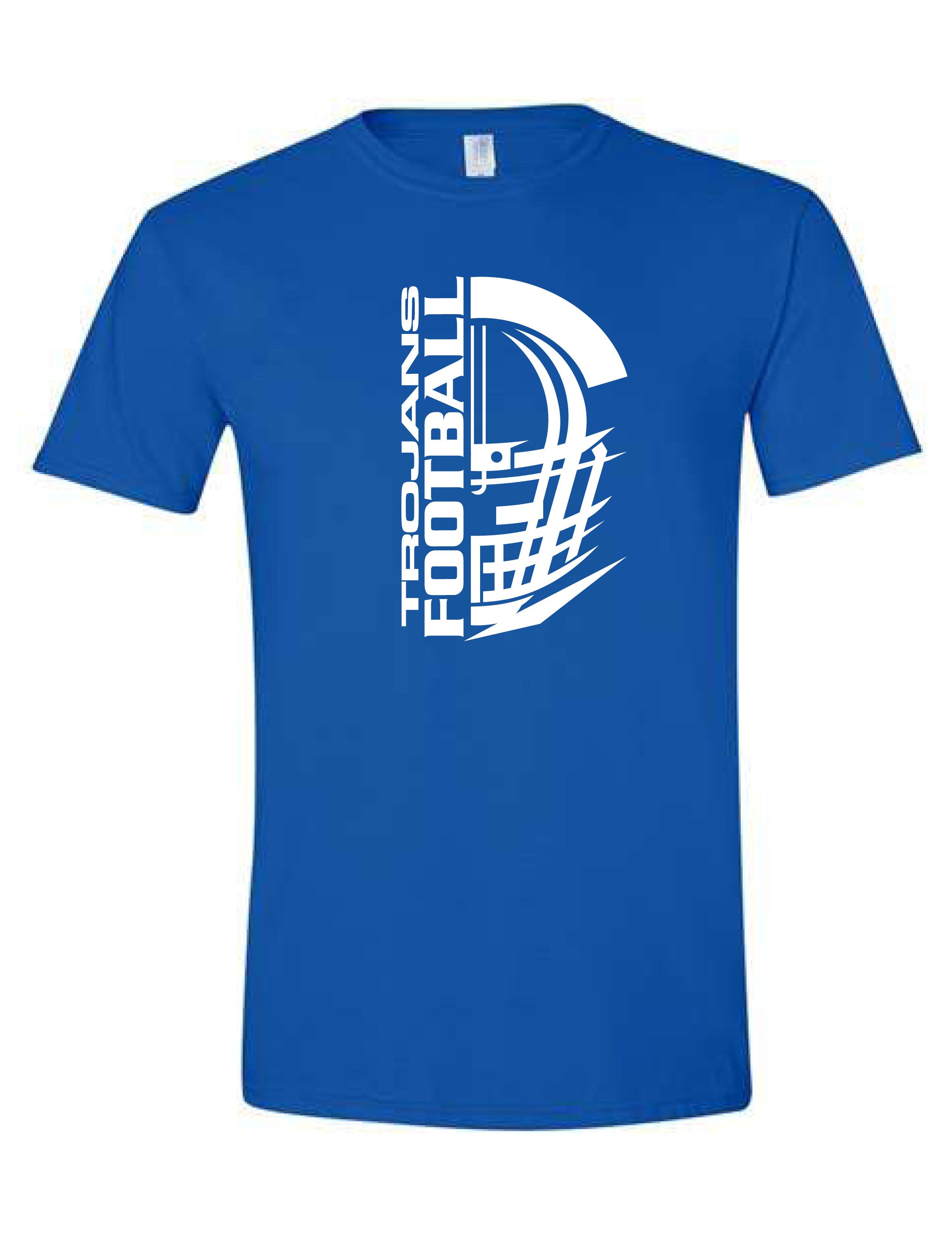Short Sleeve T-shirt  (HELMET) (Youth sizes available)